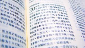 En estas primeras Eucaristías participa una veintena de chinos para quienes se ha preparado un libreto bilingüe.