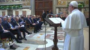 Discurso del Papa Francisco al recibir Premio Carlomagno.
