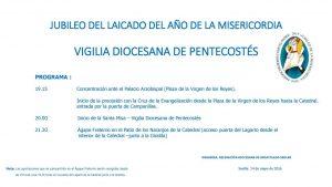 Vigilia de Pentecostes. JUBILEO DEL LAICADO