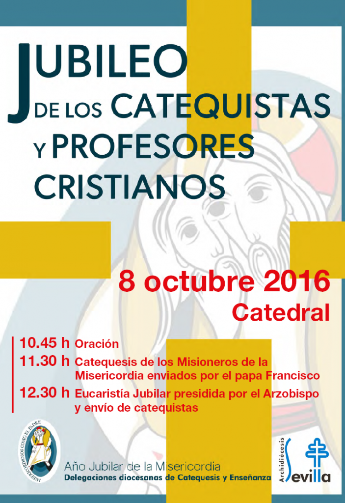 Jubileo de los CATEQUISTAS Y PROFESORES CRISTIANOS.